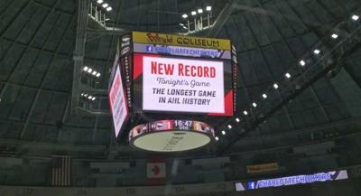 AHL teams set new record with 5-OT playoffgame