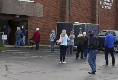 Local sites busy on first day of early voting