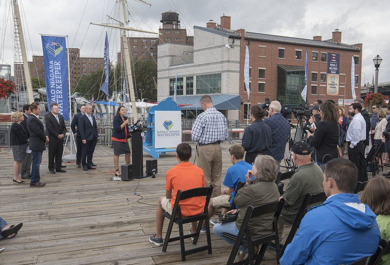 Buffalo Niagara Riverkeeper rebrands, delivers water report