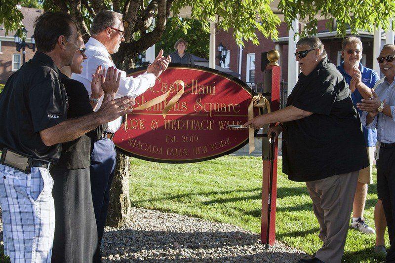 Castellani park unveiled