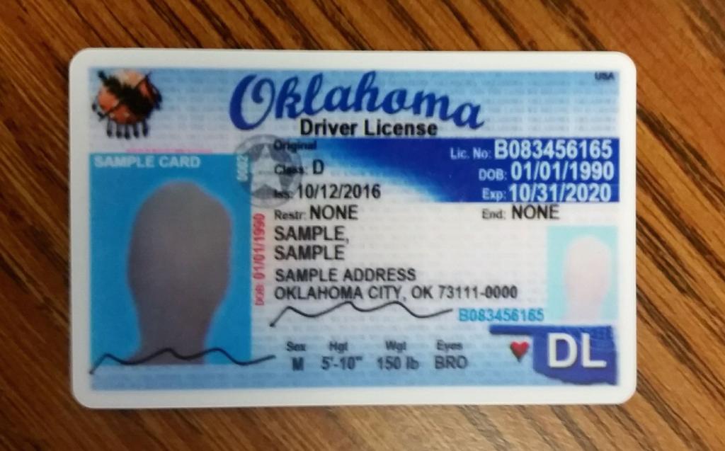 okc drivers license address change