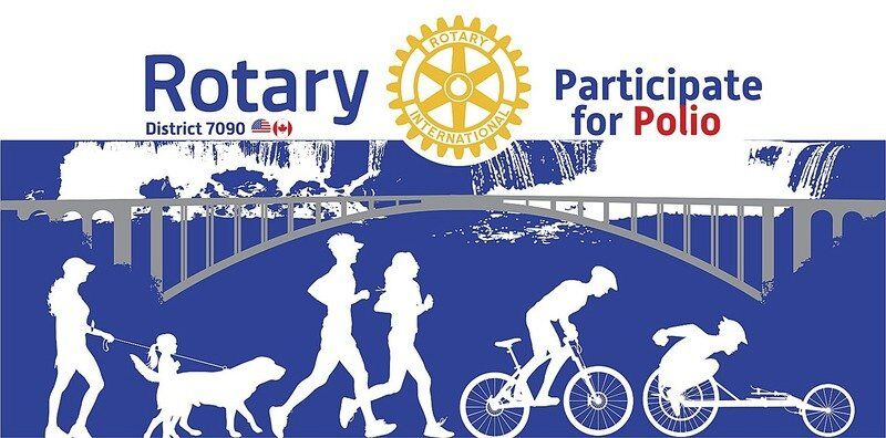 Rotary-organized 'Pedal for Polio' setfor Oct. 2