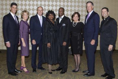 Community leaders honored during NU President's Dinner