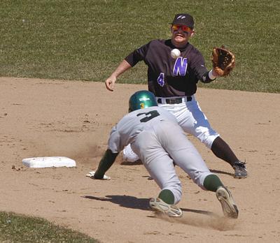 090411 NU Baseball - Sports
