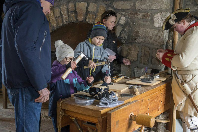Ready for some cordwaining at Old Fort Niagara?
