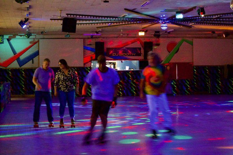 nt 39 s rainbow roller rink gets a boost from oliver street. Black Bedroom Furniture Sets. Home Design Ideas