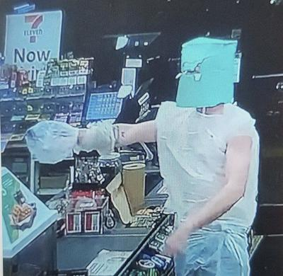 Police: Falls 'bag' robber caught