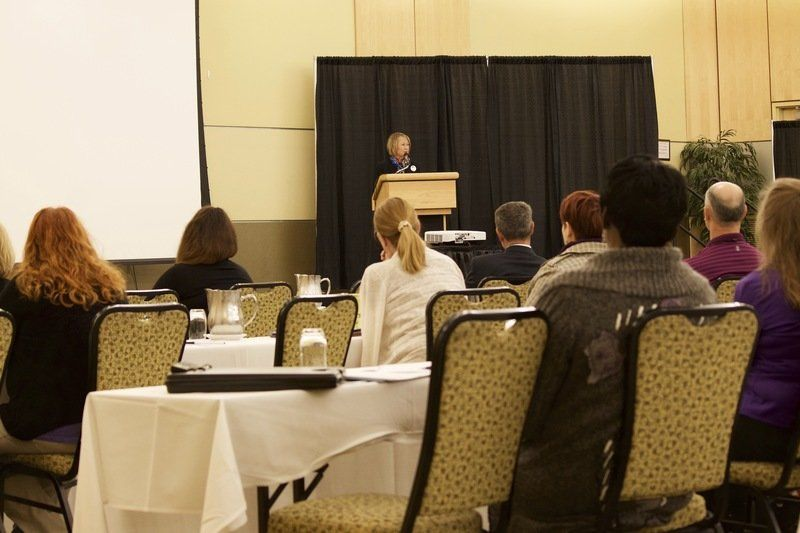 Patty Wetterling shares story at Family Violence Intervention conference