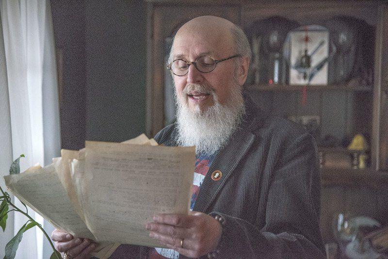 Love poems left behind: Lewiston man gets dad's poetry