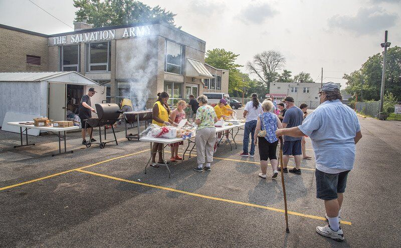 Barbecue and a bit of fellowship