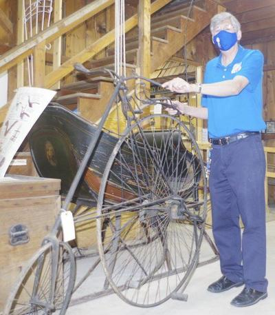 Niagara County Historical Society looking to unravel mystery around its velocipede