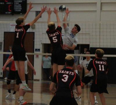 GI boys volleyball goes for school's first state title