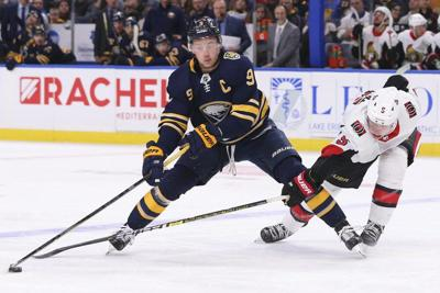 Eichel vows 'wheels won't fall off' Sabres as in past years