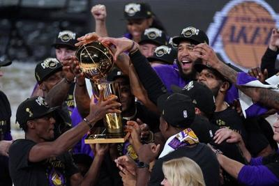Lakers run past Heat for 17th championship
