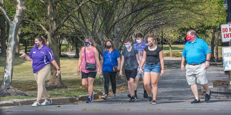 NU students returning to a different college experience