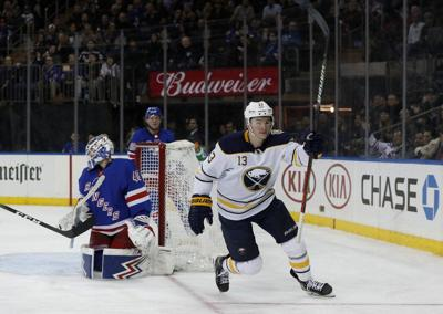 Vesey, Hutton help Sabres hold on to beat Rangers