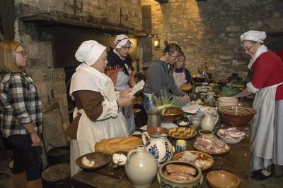 A bit of French culture at Old Fort Niagara