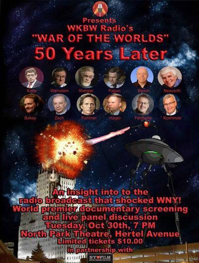 Celebrating WKBW radio's 'War of the Worlds'