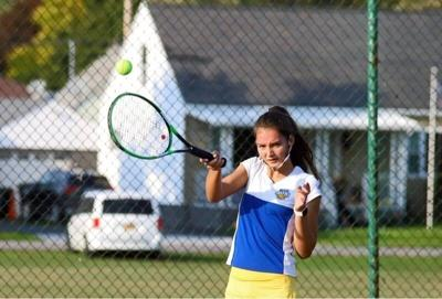 Lockport girls tennis holds off NT to close out loaded week