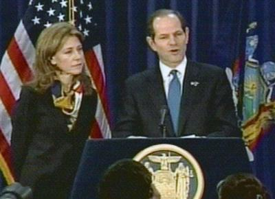 Spitzer and Wife during prostitution
