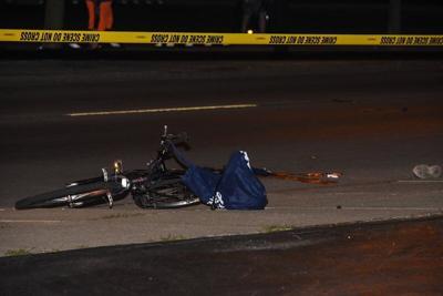 Falls police ID man injured in car-bike accident
