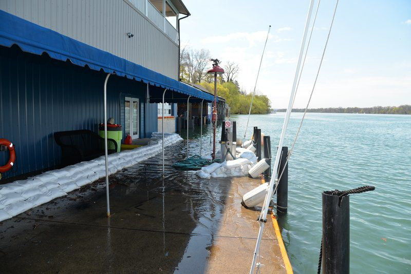 High water's sinkingbusinesses