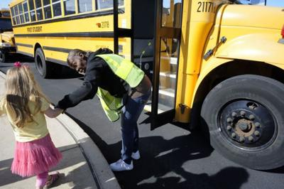 Teachers union seeks bus monitor mandate