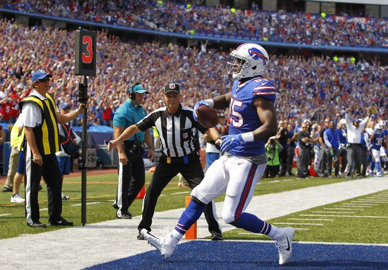 LeSean McCoy headlines Bills injury report ahead of opener vs. Jets