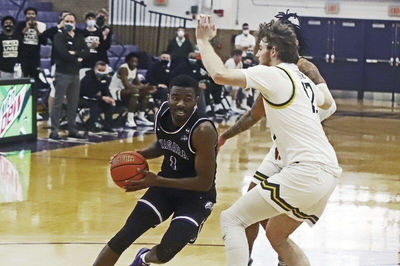 Purple Eagles battle MAAC-favorite Siena to weekend split