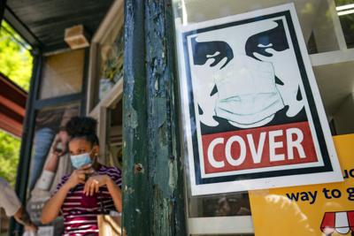 Virus Outbreak-New York-Mask Rules