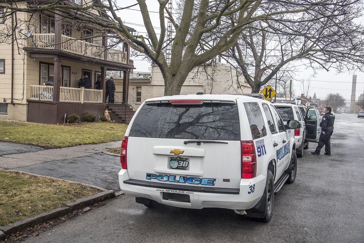 Slideshow Falls Police Investigate Home Invasion Complaint