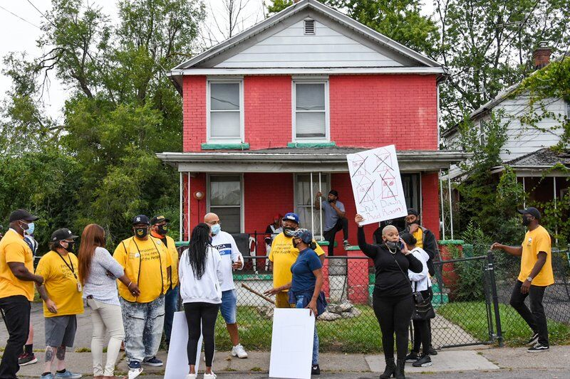 Protest targets Red Room