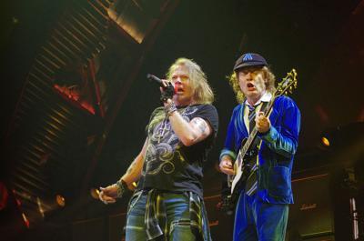 Axl Rose-voiced AC/DC rocks Buffalo | Night and Day