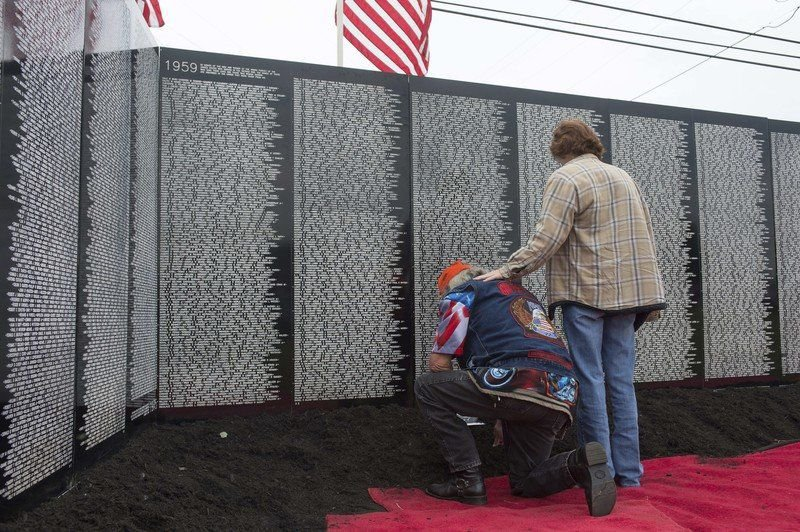 Vietnam Traveling Memorial Wall coming to Falls this week