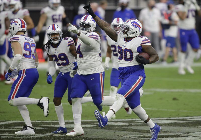 Bills remain undefeated, top Raiders in Las Vegas
