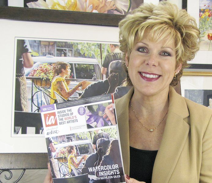 Honors keep coming for local watercolorist Kathy Giles