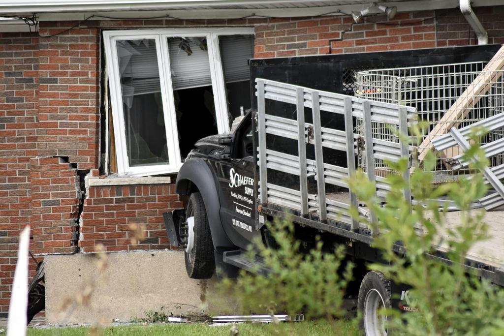 Police investigating truck crash into Lewiston home | Crime