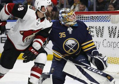 cb29bbf4e Rookie Keller sets up 2 in Coyotes  4-1 win over Sabres