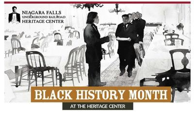 Niagara Falls Underground Railroad Heritage Center's virtual Black History Month events continue