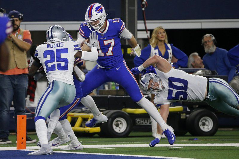Trick TD sparks Bills to Thanksgiving win over Cowboys