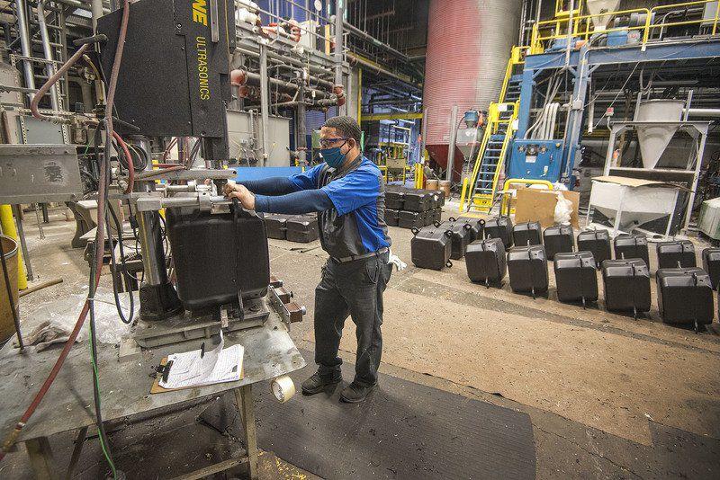 Plastics company ready to aid in restart