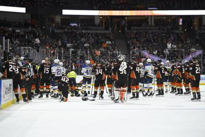 Tensemoment when NHL player collapses on bench