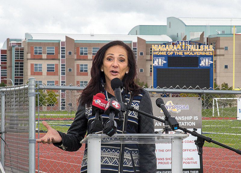 New stadium name honors coach's legacy in the Falls