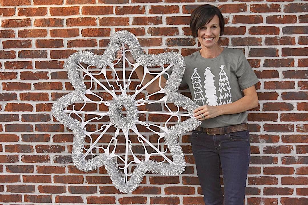 The Shabby Tree Part I Dollar Store Hangers Make A Shining Star Features Niagara Gazette Com