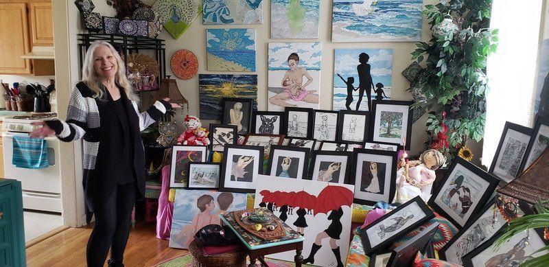 'Bucket list' art show and salestarts Saturday