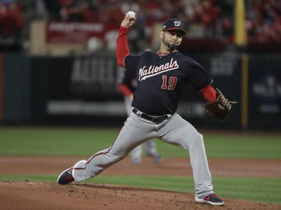 Sánchez shines as Nationals beat Cards in NLCS opener