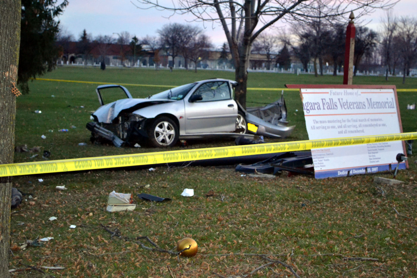 Falls Police Investigating Fatal Accident Crime Niagara
