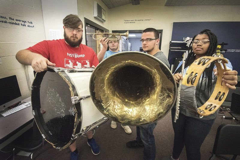 Falls school budget has $300K to replace oldest instruments in the music programs