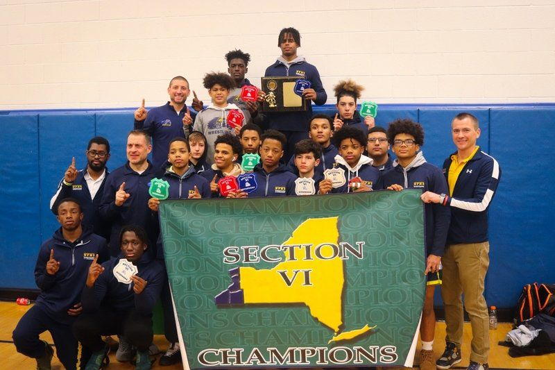 Local wrestlers punch tickets to Section VI state qualifier