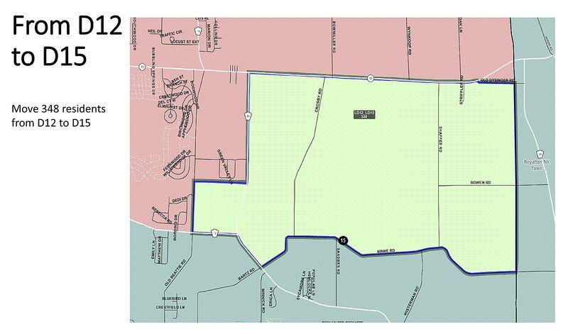 Hearing tonight on Niagara County redistricting plan